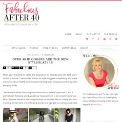 Over 40 Bloggers are the New Styleblazers