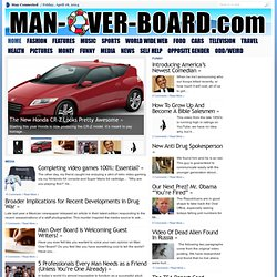 Man-Over-Board.com