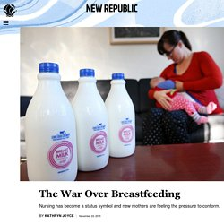 The War Over Breastfeeding