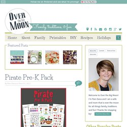 Over The Big Moon Pirate Pre-K Pack - Over The Big Moon