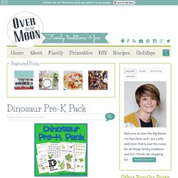 Over The Big Moon Dinosaur Pre-K Pack - Over The Big Moon