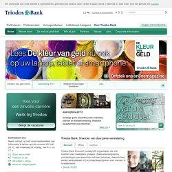 Over Triodos Bank