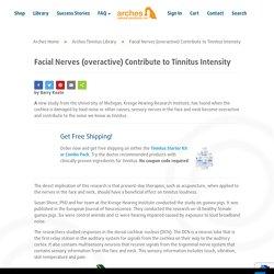 Overactive Facial Nerves Tinnitus Study