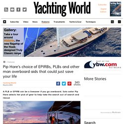 EPIRBs, PLBs and man overboard devices – Yachting World