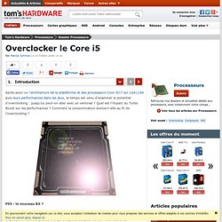 Overclocker le Core i5
