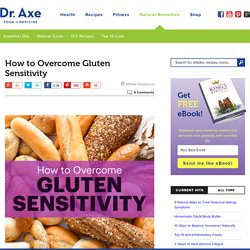 How to Overcome Gluten Sensitivity