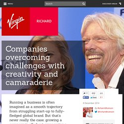 Companies overcoming challenges with creativity and camaraderie