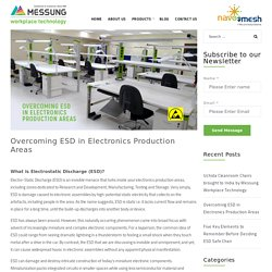 Overcoming ESD in Electronics Production Areas - Messung