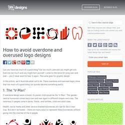 How to avoid overdone and overused logo designs