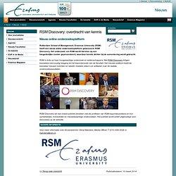 RSM Discovery: overdracht van kennis