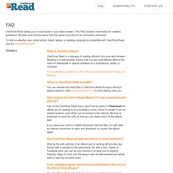 Read - Beautiful Books in Your Browser