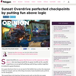 Sunset Overdrive perfected checkpoints by putting fun above logic