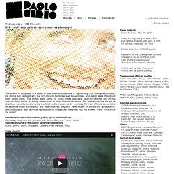 Overexposed - HD Stencils - Paolo Cirio - Contemporary Artist