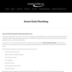 Best Sewage Overflow Cleanup Company In New jersey