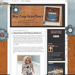 American Girl Dress Pattern