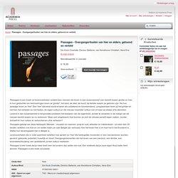 Passages - Overgangsrituelen van hier en elders, getoond en verteld.