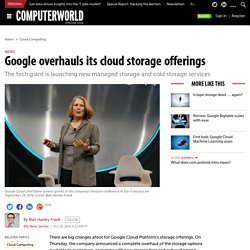 Google overhauls its cloud storage offerings