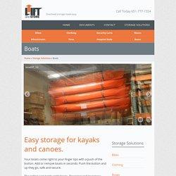 Overhead Boat Storage