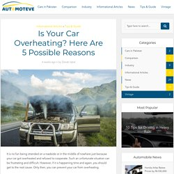 Is Your Car Overheating? Here Are 5 Possible Reasons - Automoteve Blog