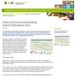 Publicatie Overheidsbrede dienstverlening 2020!