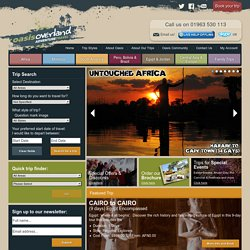 Oasis Overland – Adventure Travel Holidays, Trips and Expeditions | Oasis Overland