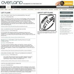 Left Flank @ Overland Magazine