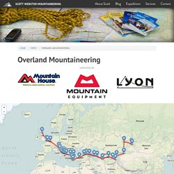 Overland Mountaineering · Scott Webster Mountaineering
