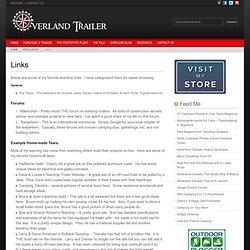 Links ‹ Overland Teardrop Trailer & Adventure
