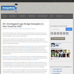 20+ Overlapped Logo Design Examples
