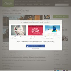 50 Hip Logo Overlay Mock-Ups ~ Product Mockups on Creative Market