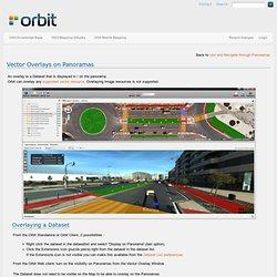 Vector Overlays on Panoramas [Orbit Knowledge Base]