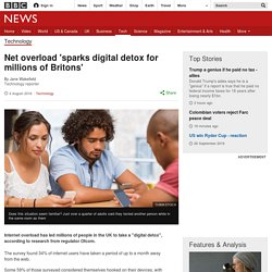 Net overload 'sparks digital detox for millions of Britons'