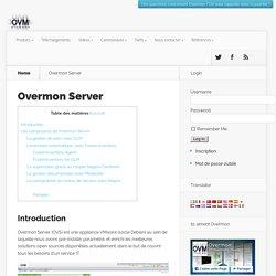 Overmon Server