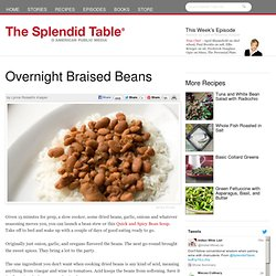 Overnight Braised Beans