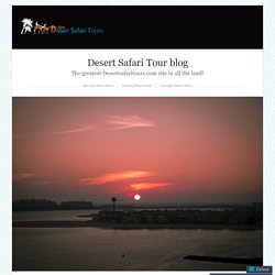 Overnight Desert Safari – Your Chance to Experience the Beauty of Desert