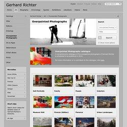 Overpainted Photographs » Gerhard Richter