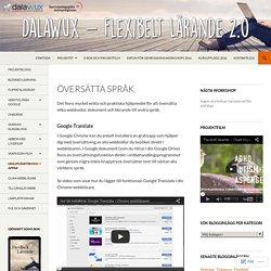 DalaWux – Flexibelt Lärande 2.0