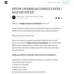 MAP MY STUDY - MAP MY STUDY — Study Overseas Consultants - Medium