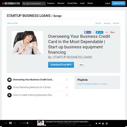 Start up business equipment financing by STARTUP BUSINESS LOANS