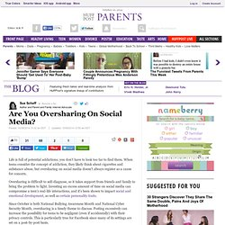Are You Oversharing On Social Media?
