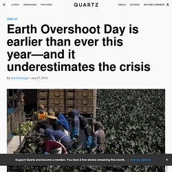 209 days into the calendar year and we have used up Earth's yearly production of global resources