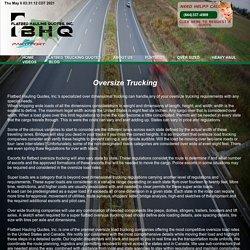 Oversize load trucking companies