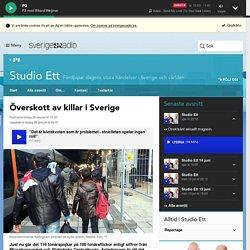 Överskott av killar i Sverige - Studio Ett