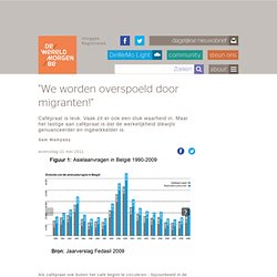 """We worden overspoeld door migranten!"""