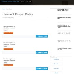 Overstock Coupon Codes: Get Up to 15% OFF For November 2018