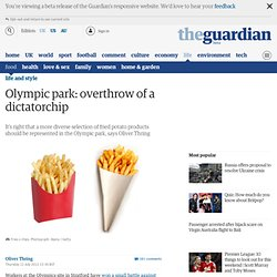 Olympic park: overthrow of a dictatorchip
