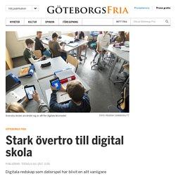 Stark övertro till digital skola