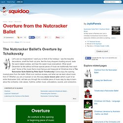 Overture from the Nutcracker Ballet