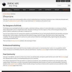InkScape - graphics designer