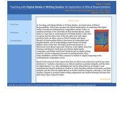 Teaching with Digital Media in Writing Studies